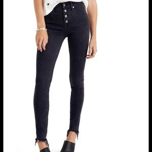 Madewell high rise skinny jeans 27